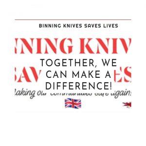 binning knives saves lives